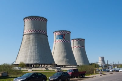 Repair of building structures of the cooling tower No. 2 of Minsk TPP-4