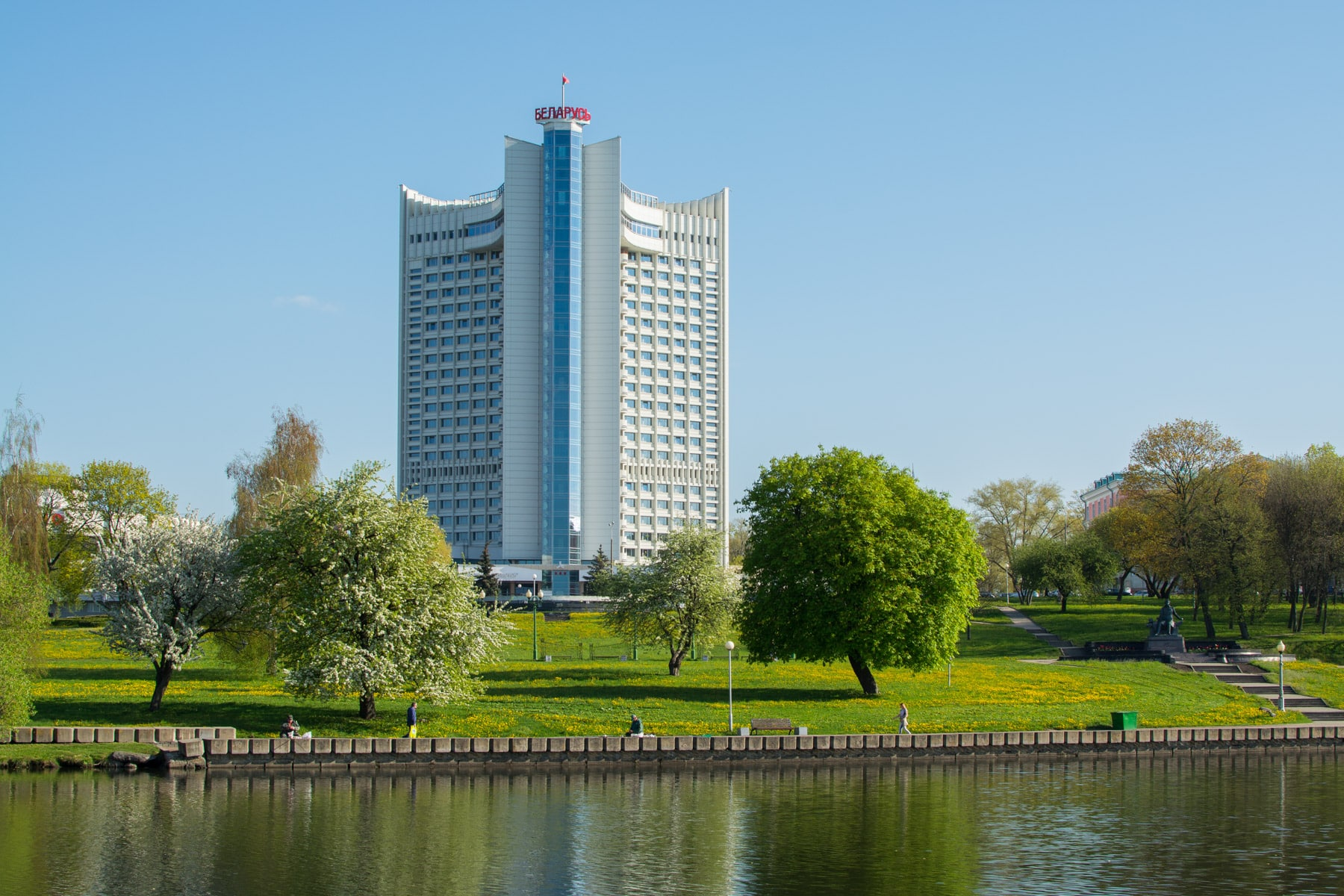 "Reconstruction of the ""Belarus"" Hotel in Minsk"