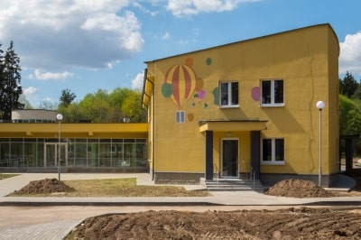 """CONSTRUCTION OF THE BUILDING OF THE CHILDREN'S HOSPITAL IN THE """"OPYTNY"""" AREA"""